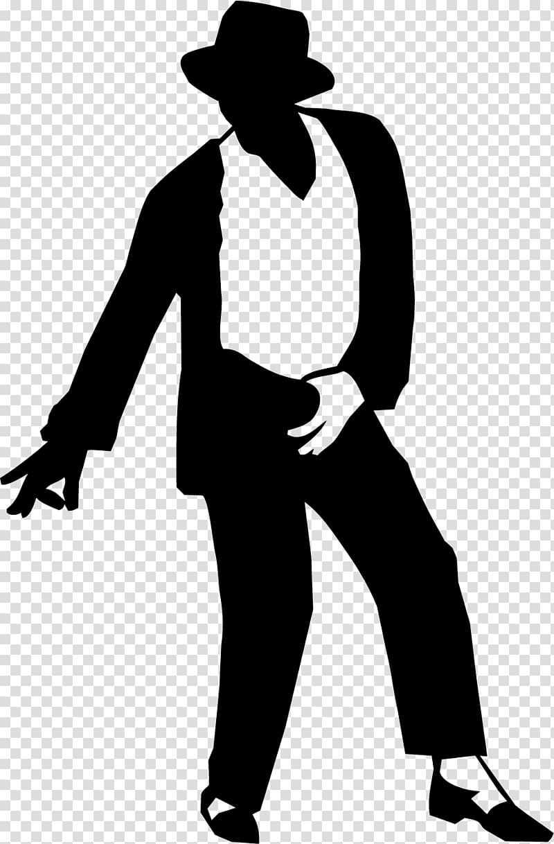 Moonwalk Silhouette Sticker Decal , Michael Jackson dancing.