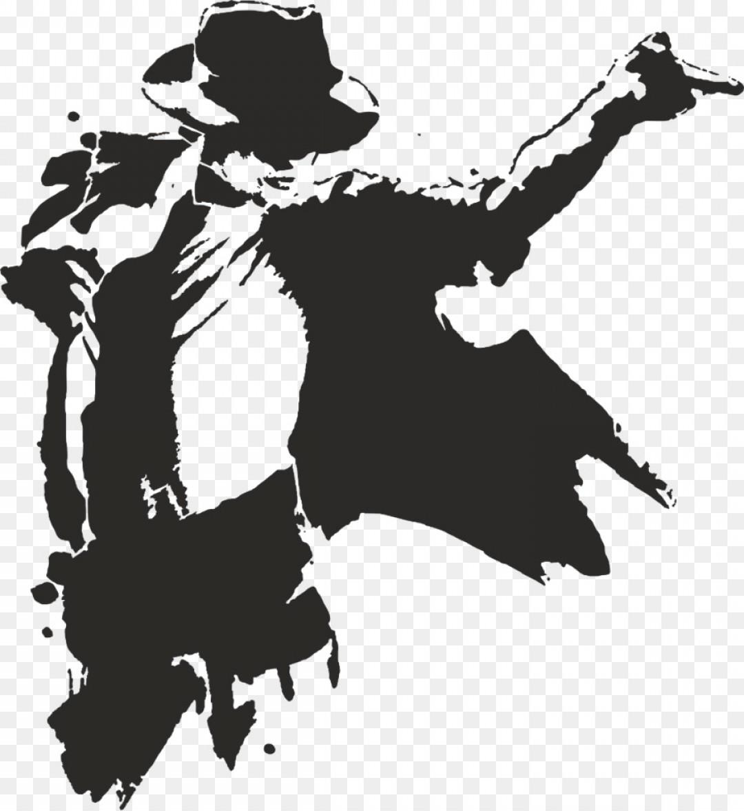 Png Moonwalk Silhouette Clip Art Michael Jackson.
