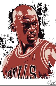 Clipart Of Michael Jordan.