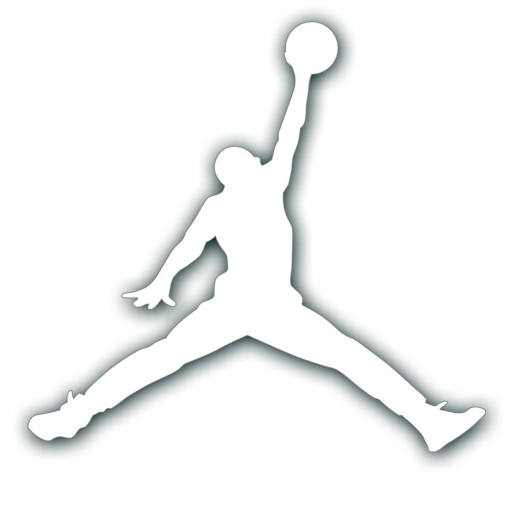 Michael Jordan Symbol Coloring Pages.
