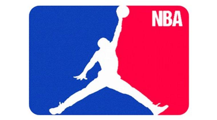 Michael jordan nba Logos.