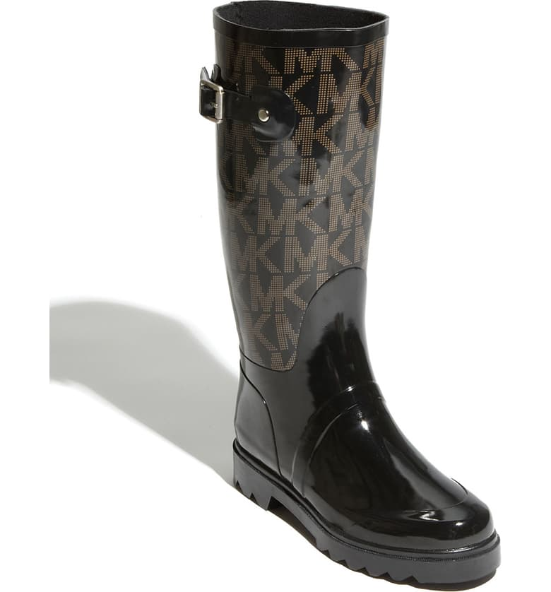 \'Logo\' Rain Boot.