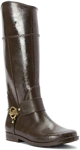 Michael Michael Kors Women\'s Fulton Harness Tall Rain Boot Rain Boots.