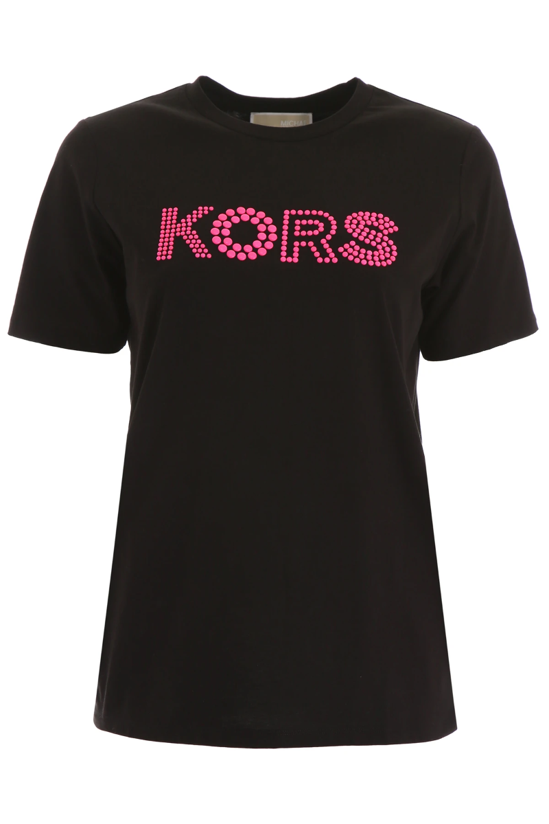Details about NEW Michael kors fluo logo t.