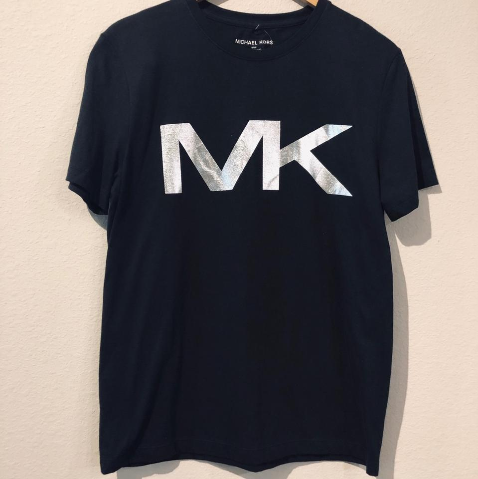 Michael Kors Black Men's Monogram Tee/Sz:s/Nwt Tee Shirt Size 6 (S) 9% off  retail.