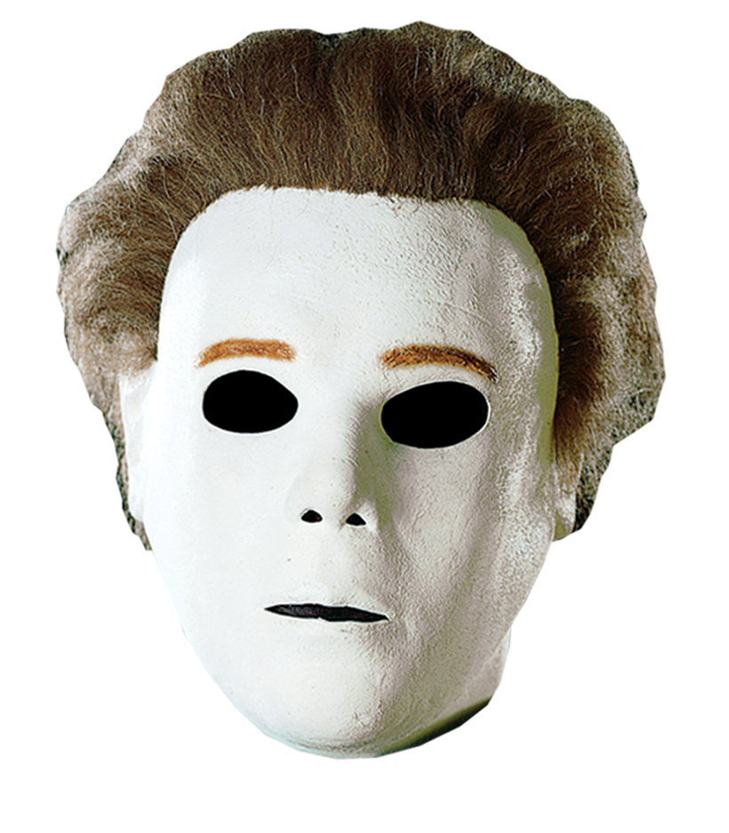 Michael myers mask clipart.
