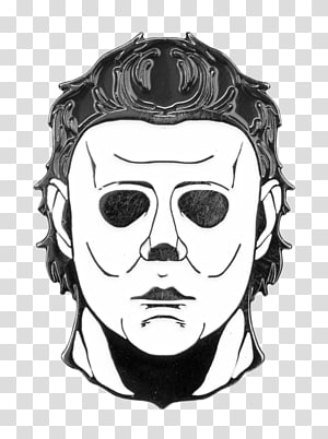 Michael Myers transparent background PNG cliparts free.