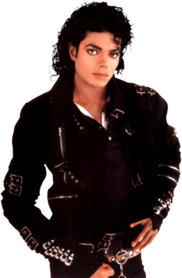 Bad Michael Jackson transparent PNG.