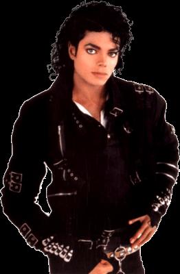 Bad Michael Jackson transparent PNG.