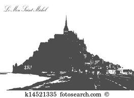 Saint michel Clipart Illustrations. 21 saint michel clip art.