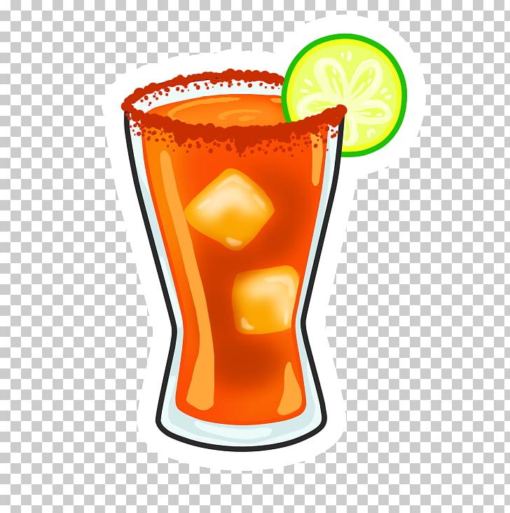 Michelada Cocktail Orange drink Emoji, cocktail PNG clipart.