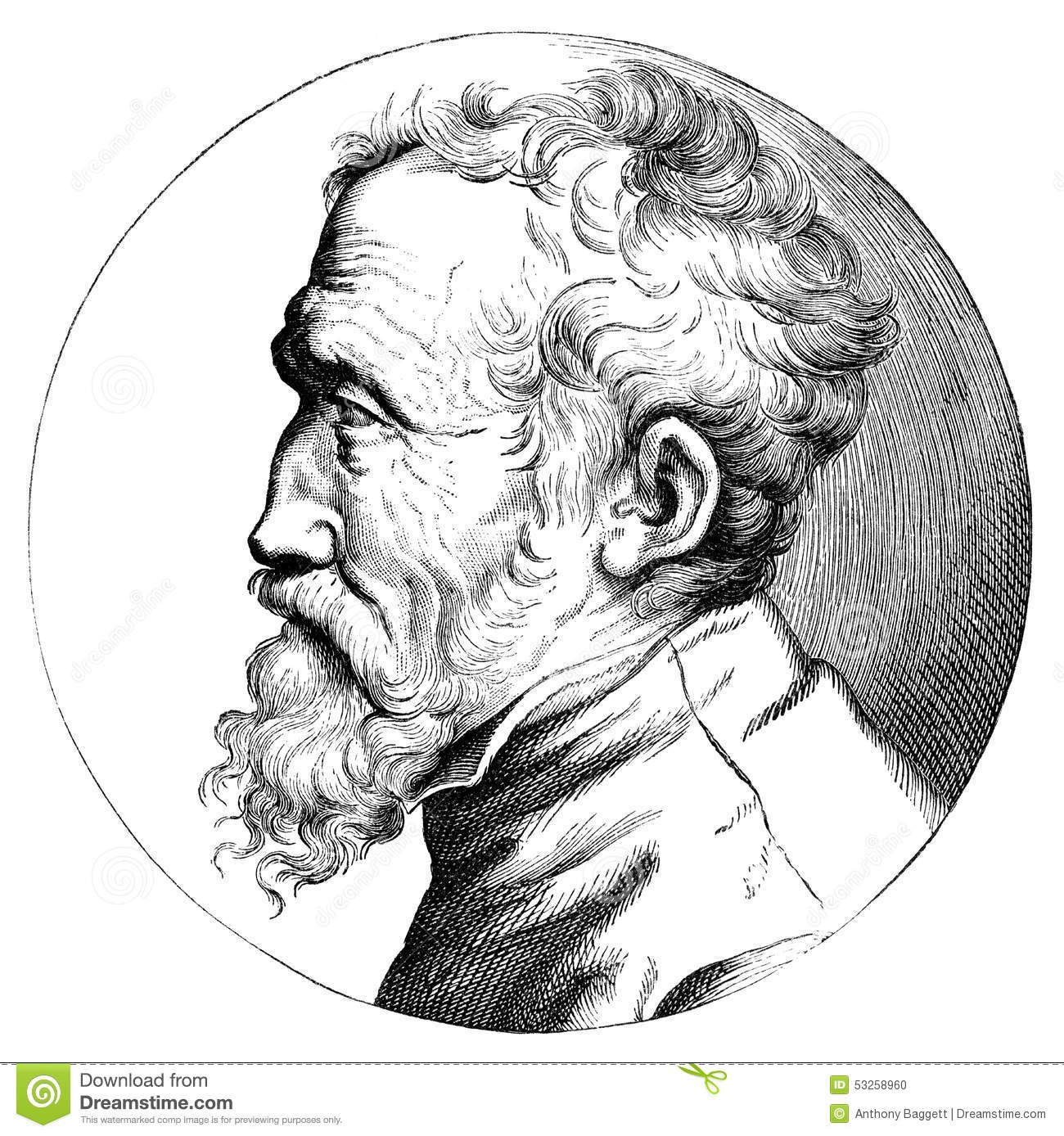 Creation Michelangelo Stock Illustrations.