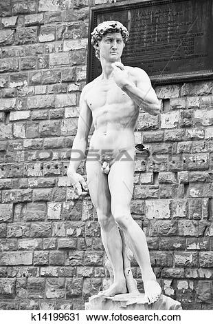 Stock Photography of Replica of Michelangelo's David k14199631.
