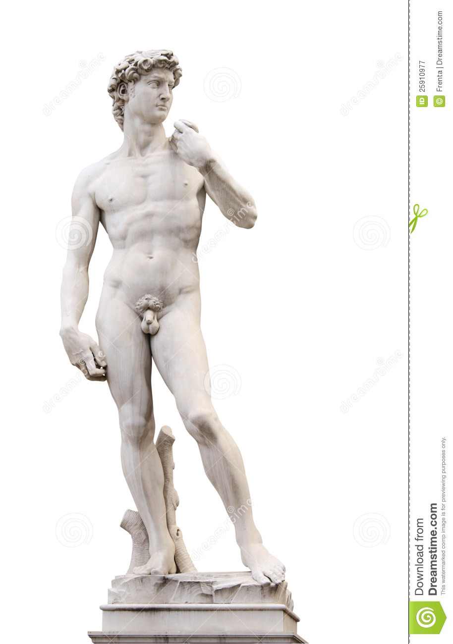 Michelangelo's David Royalty Free Stock Photography.