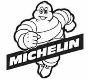 Michelin Logo Black & White.
