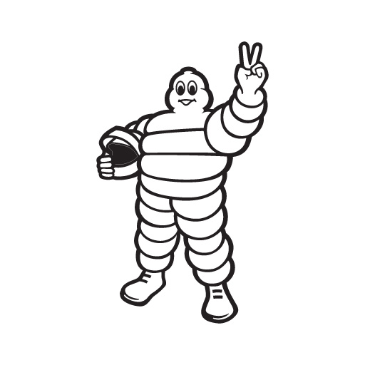 Michelin Tires logo vector.