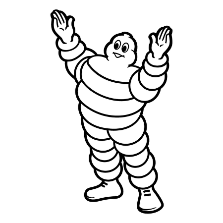 Michelin Tires™ logo vector.