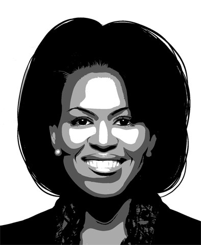 Michelle obama clipart 2 » Clipart Portal.