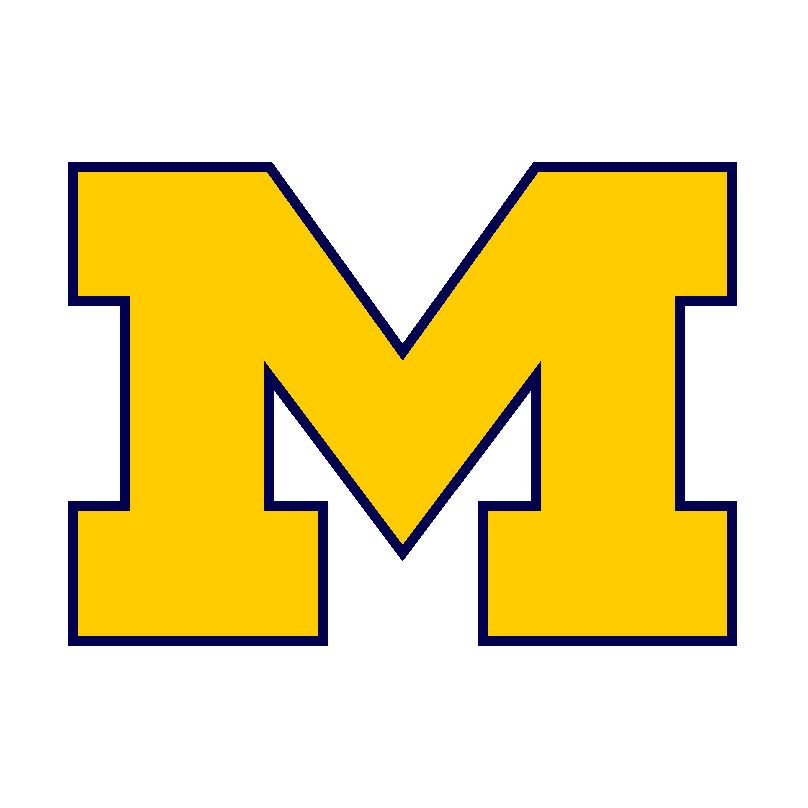 images of the michigan wolverines logos.