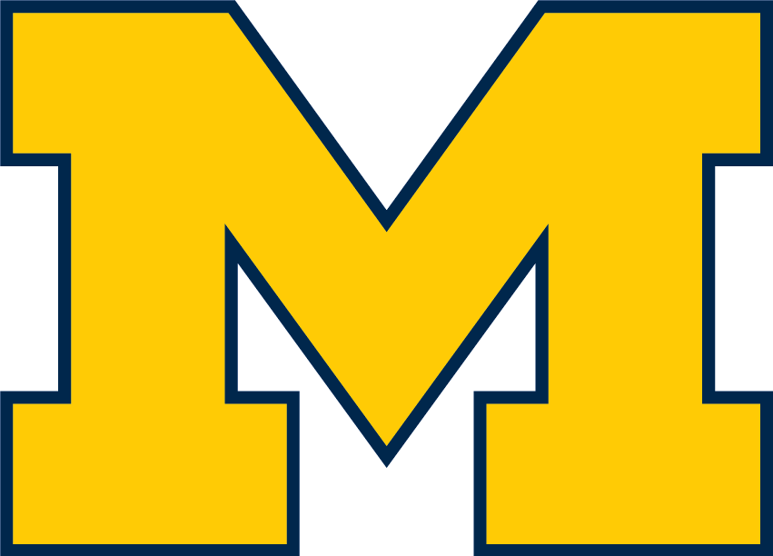 File:Michigan Wolverines Block M.png.