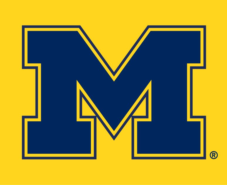 images of michigan wolverines logo.