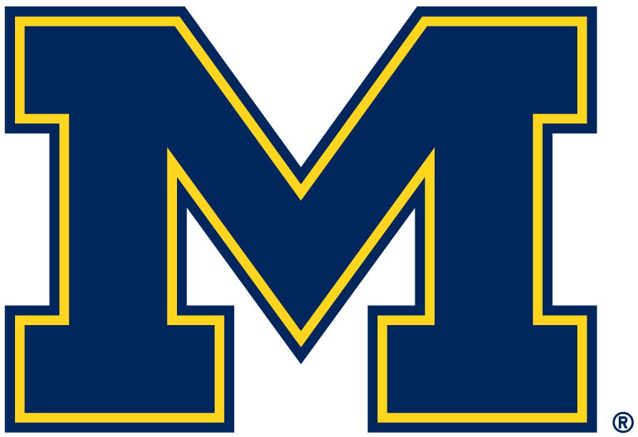 Michigan Wolverines Alternate Logo.