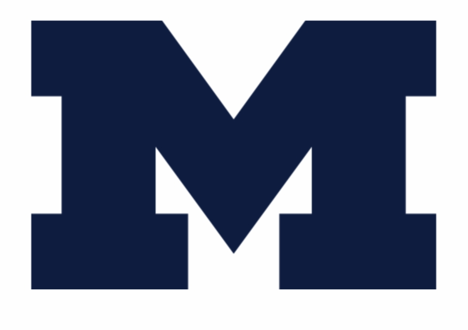 Blue M Logo Png.