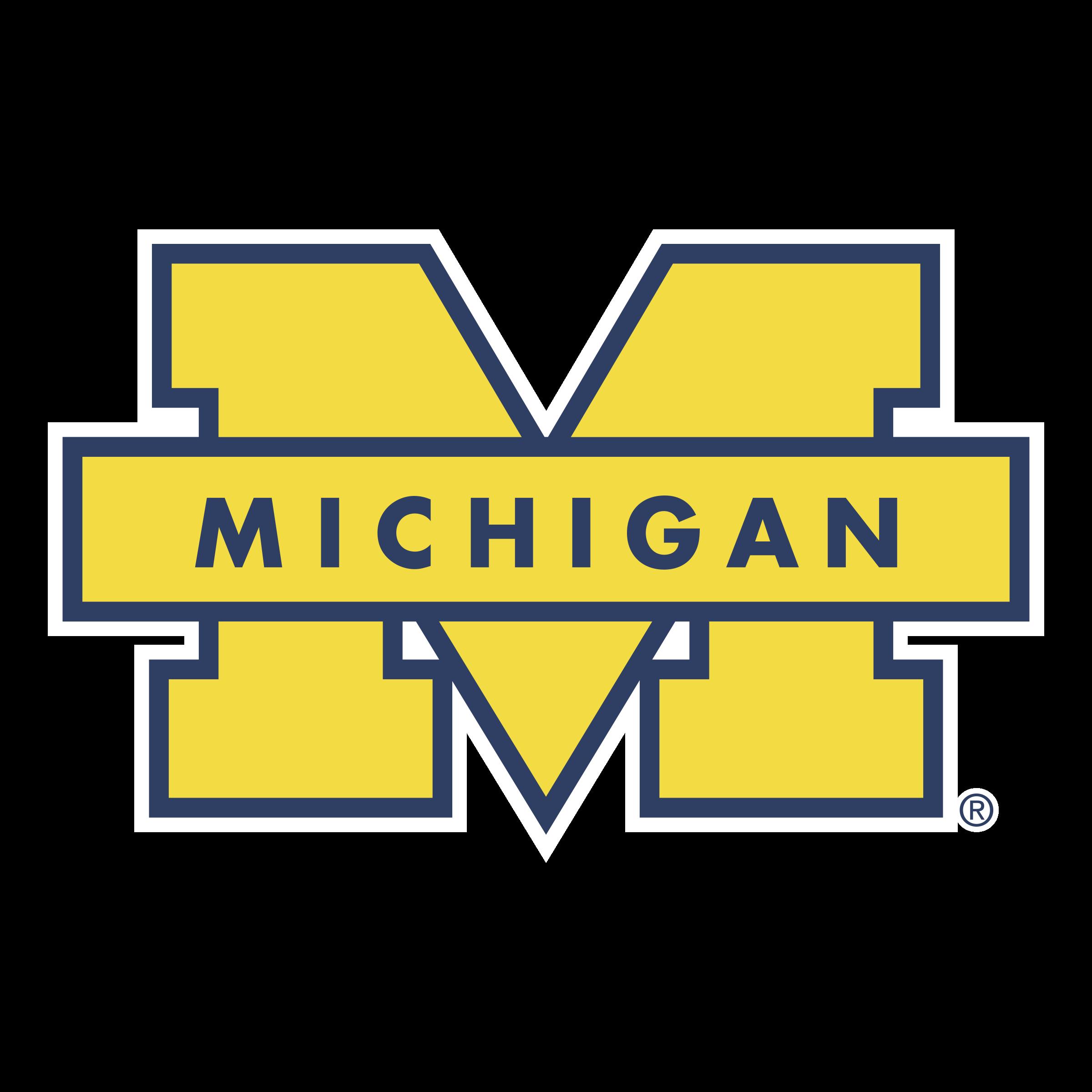 Michigan Wolverines Logo PNG Transparent & SVG Vector.
