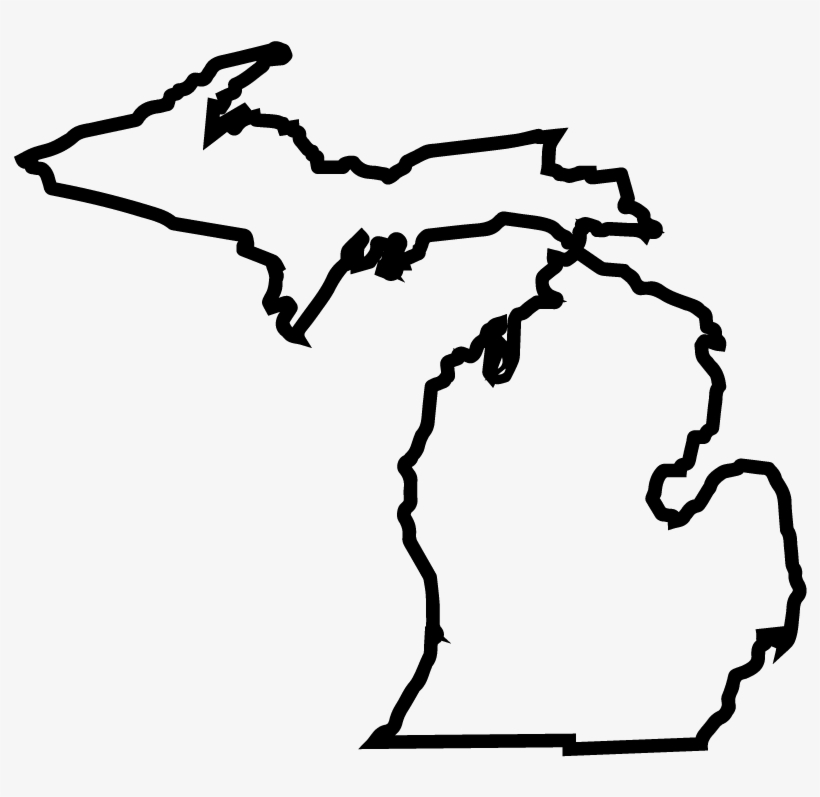 Michiganstateoutline.