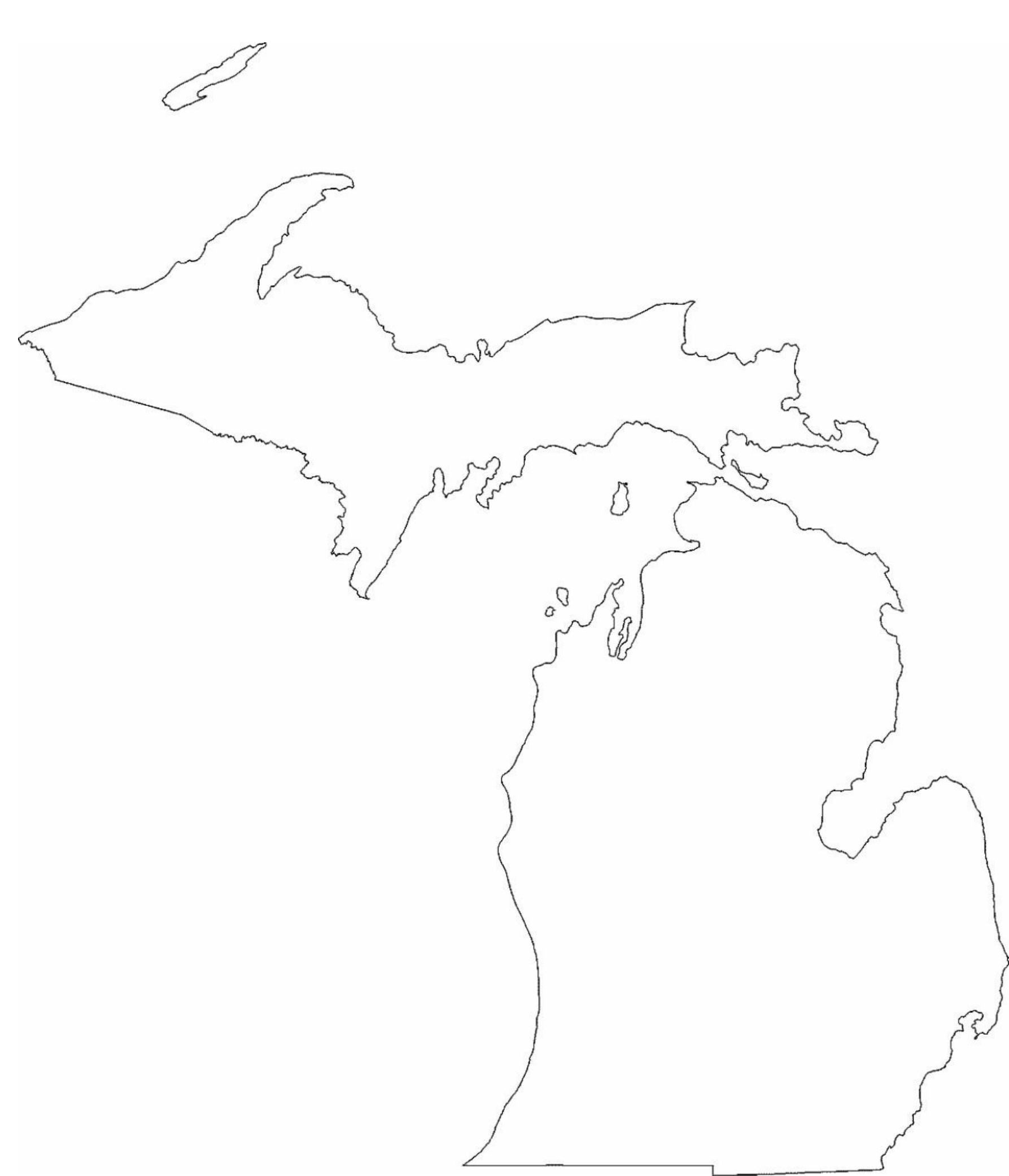 Michigan Outline Png (109+ images in Collection) Page 1.