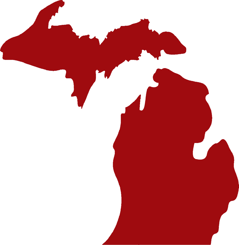 Michigan Silhouette Vector at GetDrawings.com.