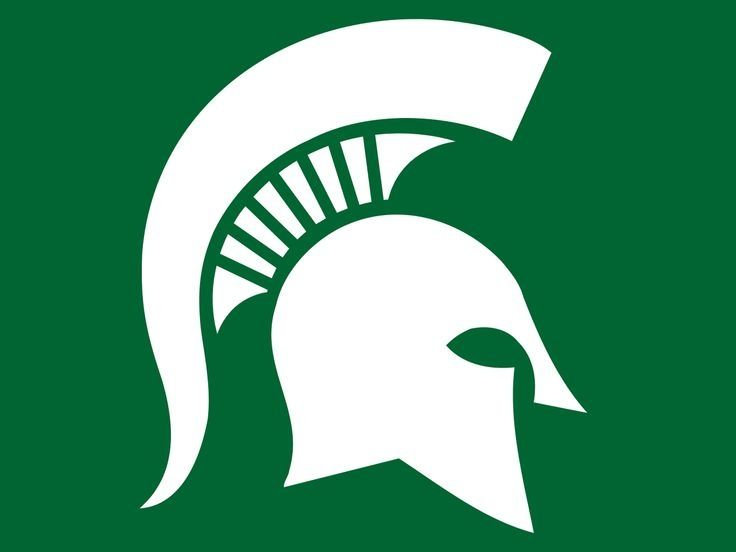 Michigan State University Logo Clip Art: Michigan Spartans.