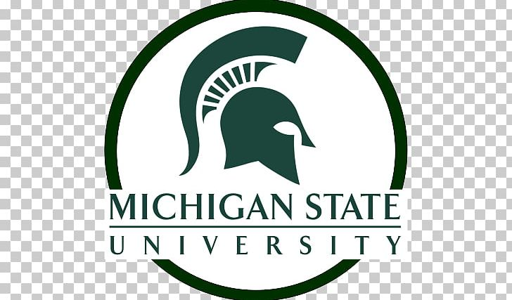 Michigan State University Logo Brand Portable Network.
