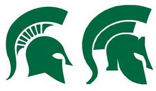 Michigan State Spartans' Logo Controversy.