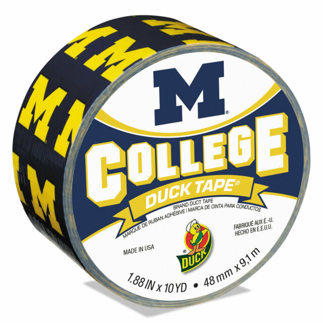 Duck BRAND 281600 University of Michigan College Logo Duct Tape.