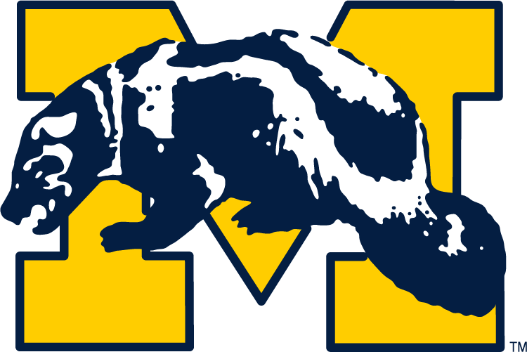 Michigan Wolverines Primary Logo.