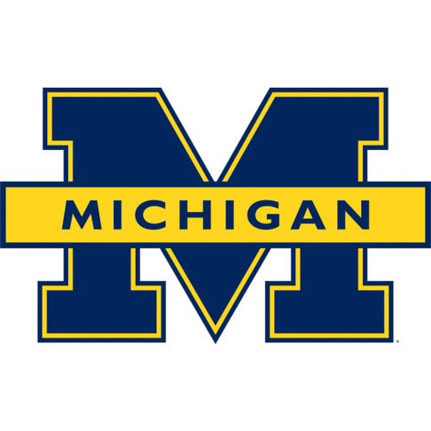 Michigan Wolverines Clipart.