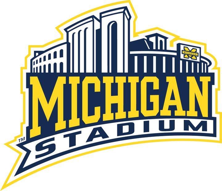 Michigan stadium clipart.