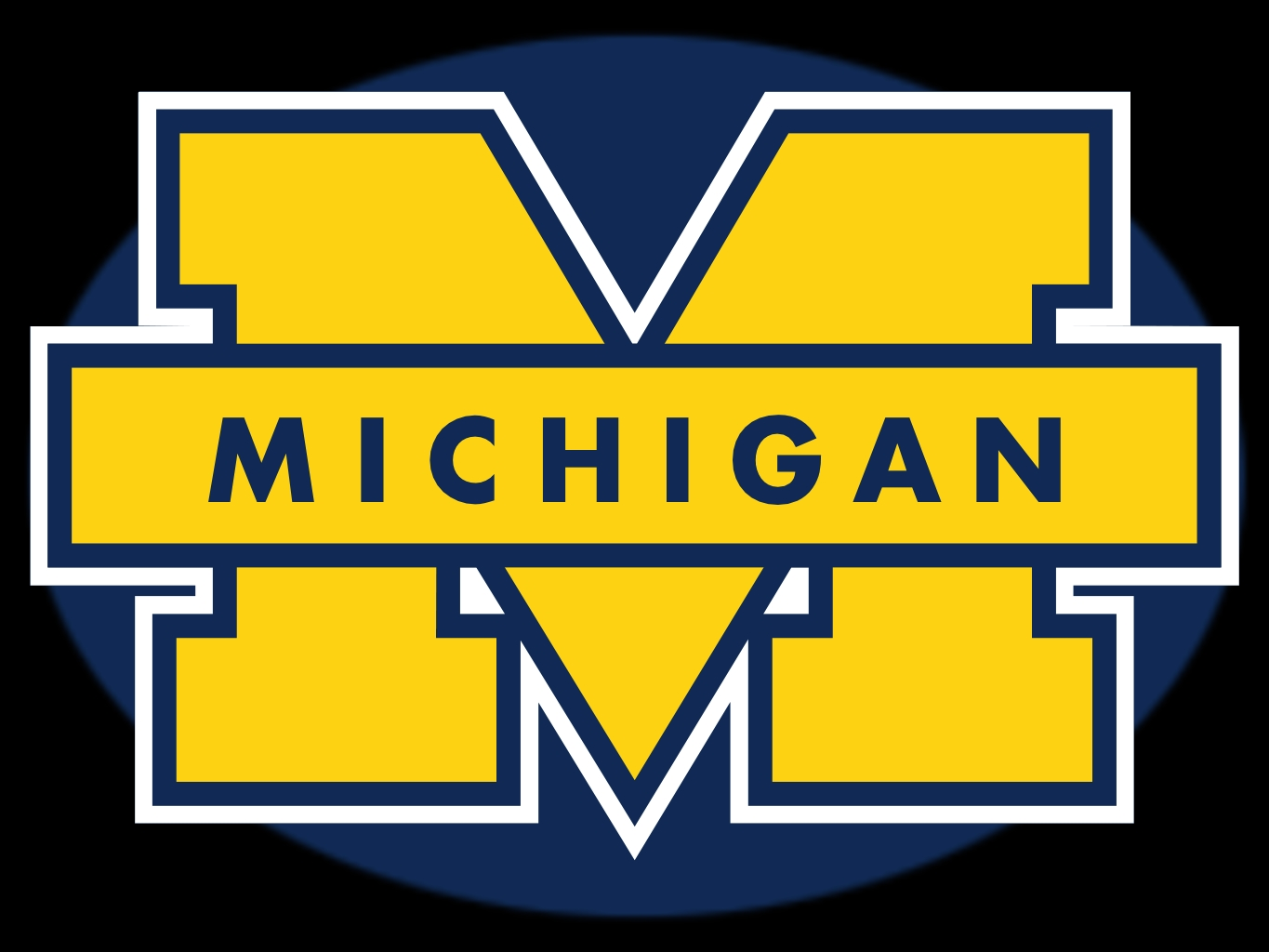 Michigan football clipart hd.