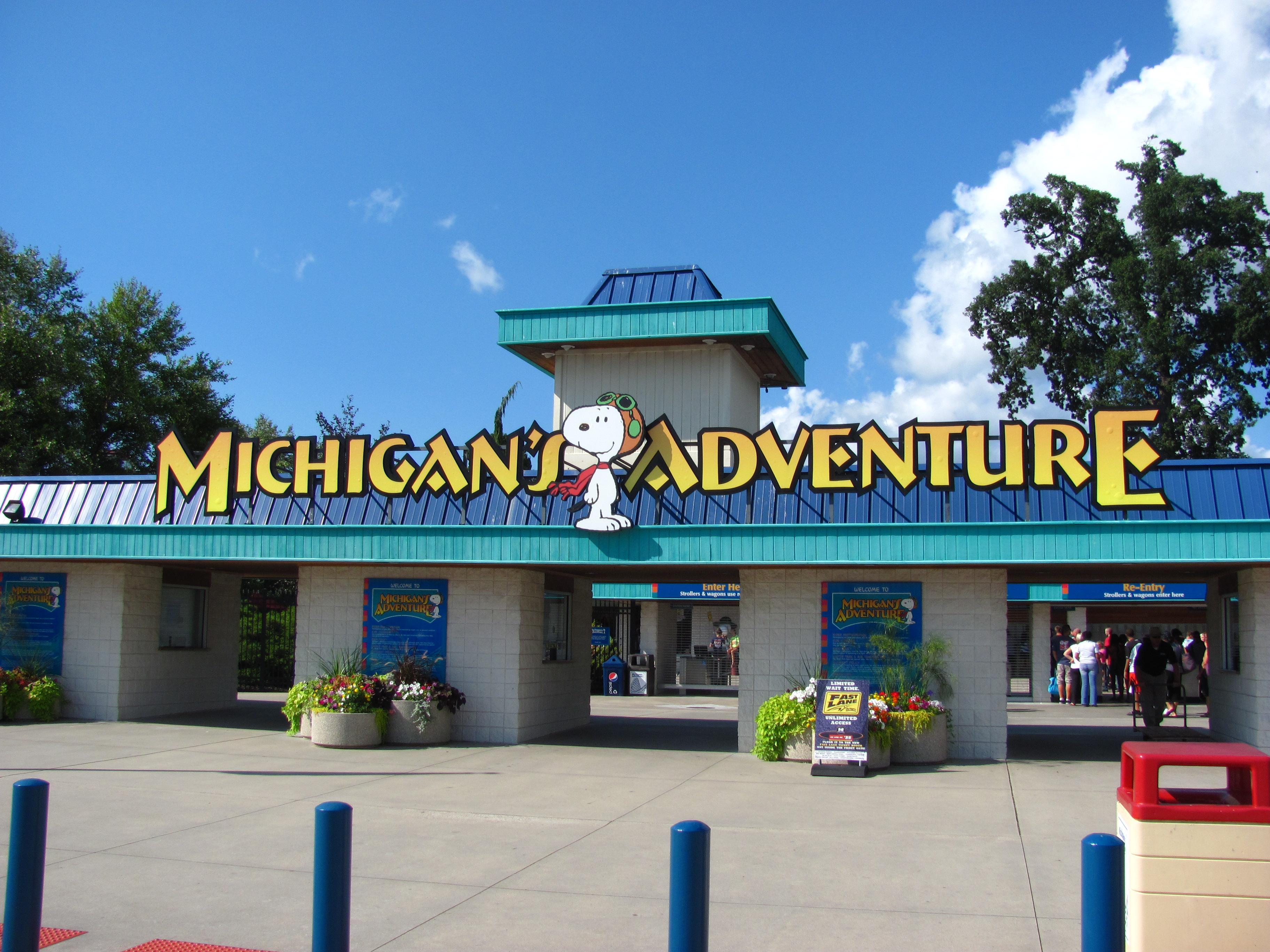Michigan\'s Adventure.