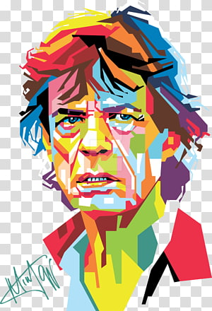 Mick Jagger transparent background PNG cliparts free.