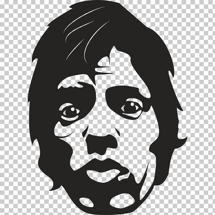 Mick Jagger Silhouette Illustration graphics Singer.
