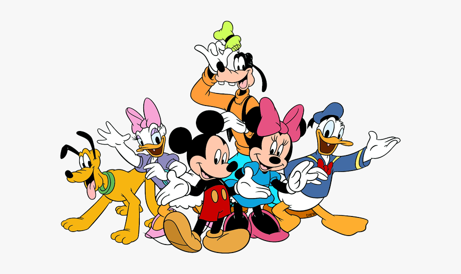 Mickey And Friends Clipart.