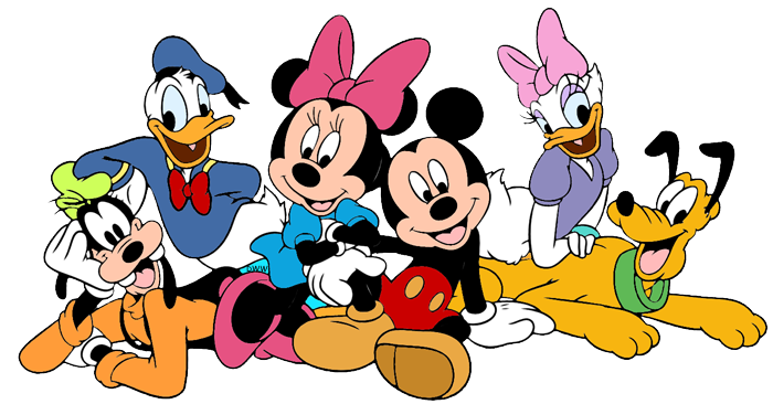 Mickey Mouse and Friends Clip Art Images 2.