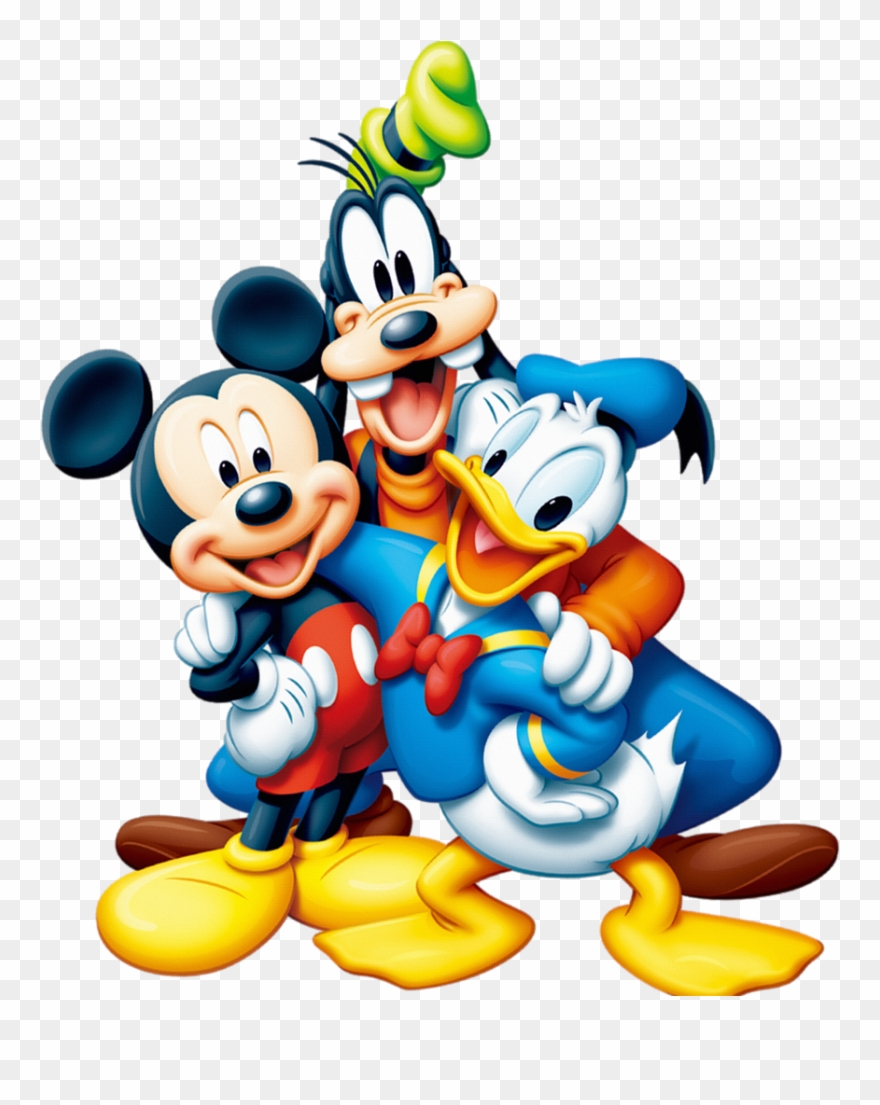 Mickey Mouse And Friends Png Clipart (#1100584).