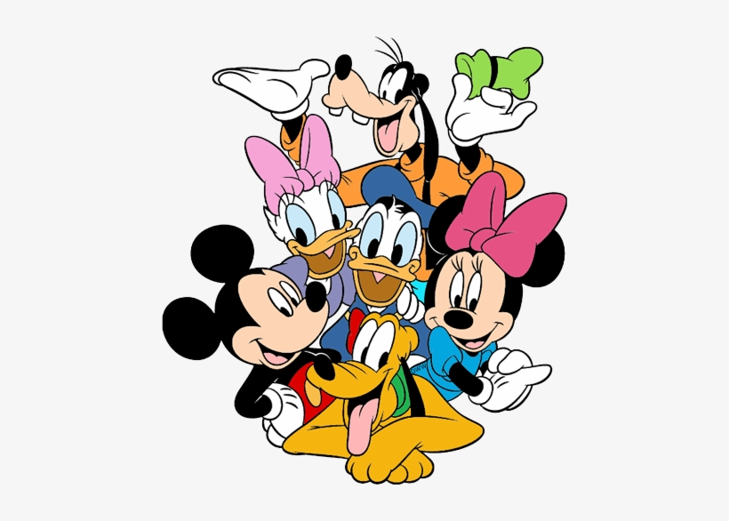 Mickey Mouse And Friends Png Group (+), HD Png.