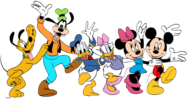 Mickey Mouse And Friends Png Vector, Clipart, PSD.
