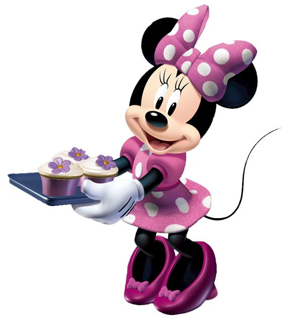 Mickey And Minnie Baking Clipart.