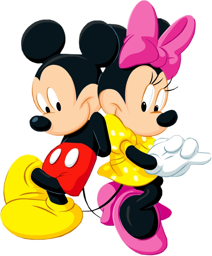 Minnie And Mickey Clipart.