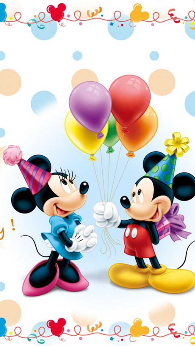Mickey and Minnie Birthday.